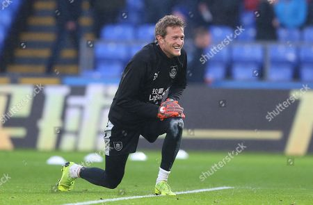 Stock Image of Anders Lindegaard of Burnley