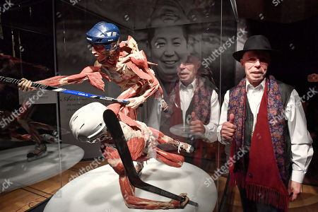 Editorial image of Body Worlds exhibit opens in Warsaw, Poland - 01 Dec 2018