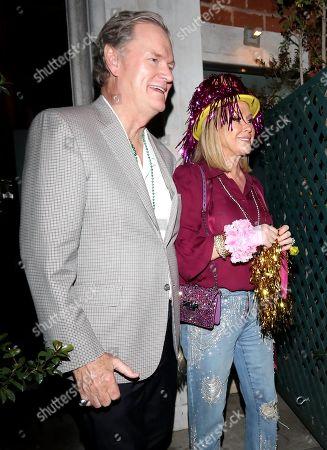 Richard Hilton and Kathy Hilton