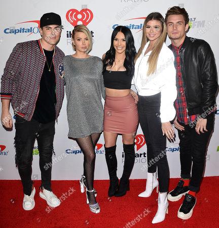 Tom Sandoval, Ariana Madix, Scheana Marie, Raquel Leviss, and Ja
