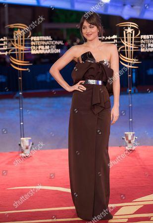 Dakota Johnson attends the Tribute To Robert De Niro event at the 17th annual Marrakech International Film Festival, in Marrakech, Morocco, 01 December 2018. The festival runs from 30 November to 08 December.
