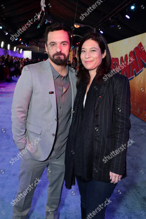 Editorial picture of Red Carpet film premiere of Columbia Pictures and Sony Pictures Animation's 'Spider-Man: into the Spider-Verse' at Regency Village Theatre, Los Angeles, USA - 1 Dec 2018