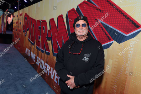 Avi Arad, Producer, during the Red Carpet Premiere of Columbia Pictures and Sony Pictures Animation's SPIDER-MAN: INTO THE SPIDER-VERSE at Regency Village Theatre.