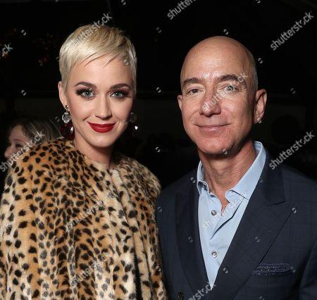 Katy Perry and Amazon CEO Jeff Bezos