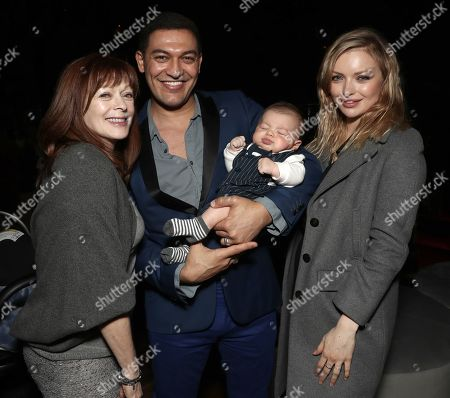 Frances Fisher, Alexander Wraith and Francesca Fisher-Eastwood