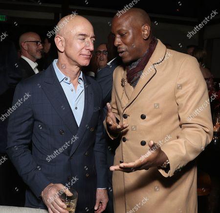 Amazon CEO Jeff Bezos and Tyrese Gibson
