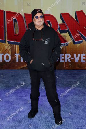 "Avi Arad arrives at the World Premiere of ""Spider-Man: Into the Spider-Verse"" at the Regency Village Theatre, in Los Angeles"