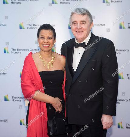 Stock Photo of Harolyn Blackwell, Peter Greer. Opera singer Harolyn Blackwell and her husband, Peter Greer,