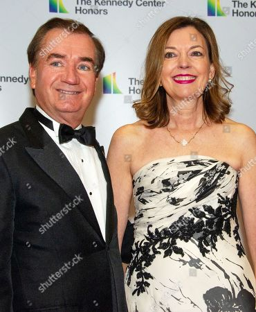 Stock Photo of United States Representative Ed Royce and Marie Royce, Assistant Secretary of State, Educational & Cultural Affairs.