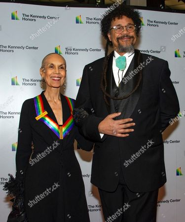 Past Kennedy Center honoree Carmen de Lavallade (L) and her son Leo Holder (R)