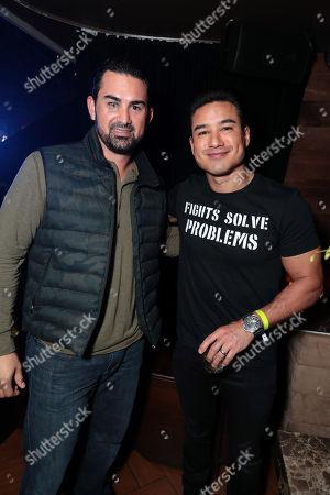 Adrian Gonzalez, Mario Lopez
