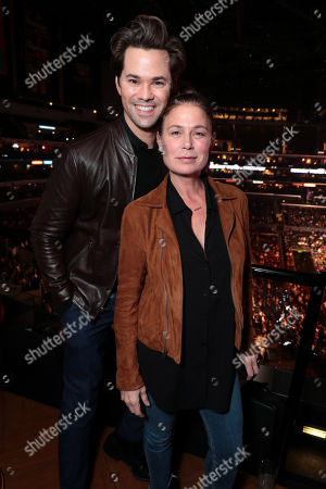 Andrew Rannells, Maura Tierney