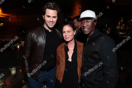 Andrew Rannells, Maura Tierney, Don Cheadle