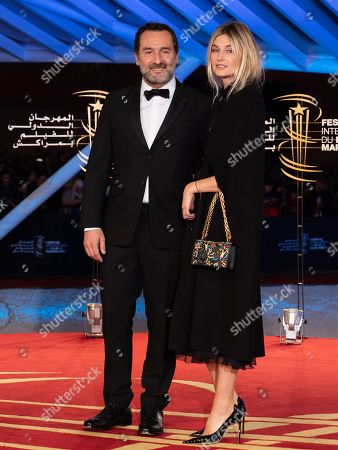 Gilles Lellouche and Alizee Guinochet