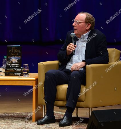 Editorial image of Bill Clinton and James Patterson book promotion, Miami, USA - 01 Dec 2018