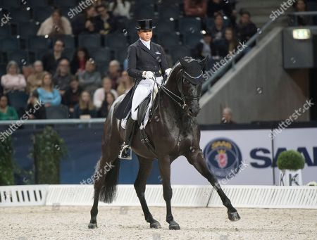 Editorial picture of International equestrian competition in Stockholm, Sweden - 02 Dec 2018