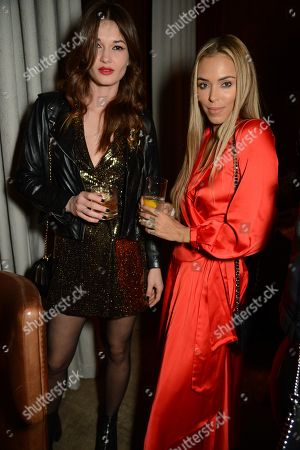 Arabella Drummond and guest