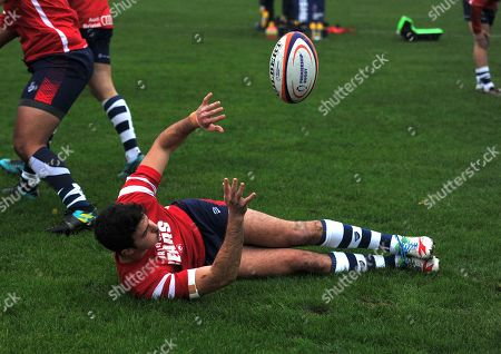 Leonardo Sarto of Bristol Bears United in warm-up