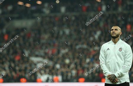 Stock Photo of Besiktas' Ricardo Quaresma during the Turkish Super League derby match between Besiktas and Galatasaray in Istanbul, Turkey, 02 December 2018.