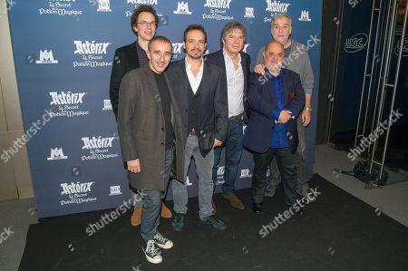 Elie Semoun, Louis Clichy, Alexandre Astier, Lionnel Astier, Guillaume Briat and Bernard Alane
