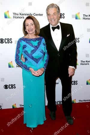 Nancy Pelosi and husband Paul Pelosi