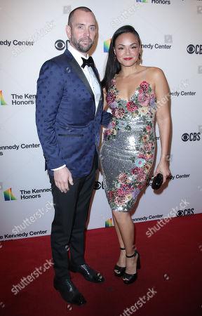 Karen Olivo and husband