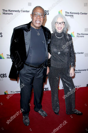 Sam Moore and wife