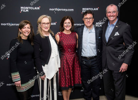 Editorial photo of Montclair Film: An Evening with Stephen Colbert and Meryl Streep, Newark, USA - 01 Dec 2018