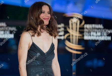 Valentina Cervi attends the 'Tribute To Agnes Varda' during the 17th annual Marrakech International Film Festival, in Marrakech, Morocco, 02 December 2018. The festival runs from 30 November to 08 December.