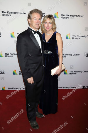 Stock Picture of Rand Paul, Kelley Paul. Rand Paul, left, and wife Kelley Paul attend the 41st Annual Kennedy Center Honors at The Kennedy Center, in Washington