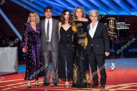 Isabella Ferrari, Riccardo Scamarcio, Valentina Cervi, Valeria Golino and guest