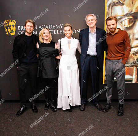 Joe Alwyn, Josie Rourke, Margot Robbie, John Guy, Jack Lowden