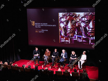 Stock Image of Wilfred Frost, Jack Lowden, Joe Alwyn, John Guy, Josie Rourke, Margot Robbie