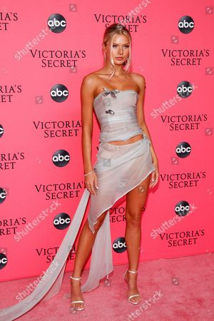 Editorial image of Victoria's Secret 2018 Fashion Show Viewing Party, New York, USA - 02 Dec 2018