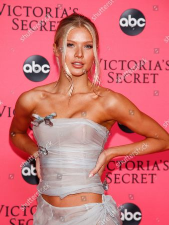 Editorial picture of Victoria's Secret 2018 Fashion Show Viewing Party, New York, USA - 02 Dec 2018