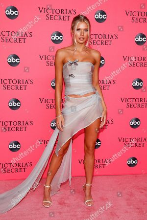 Stock Picture of Josie Canseco attends the Victoria's Secret 2018 Fashion Show viewing party at Spring Studios, in New York