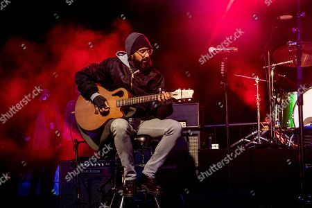 Stock Photo of Ben Kenney of Incubus seen at One Love Malibu at King Gillette Ranch, in Calabasas, Calif
