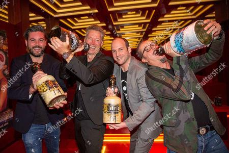 Georg Weis, Patrick M. Knapp Schwarzenegger, Stefan Lackner, Marco Bachler