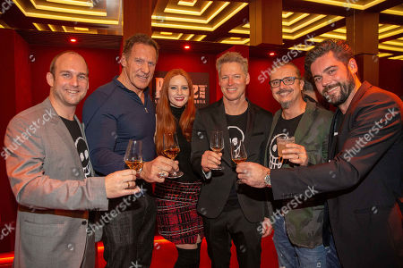 Stock Image of Stefan Lackner, Ralf Moeller, Barbara Meier, Patrick M. Knapp Schwarzenegger, Marco Bachler, Georg Weis