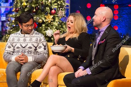 Sheridan Smith, Rahul Mandal, Tom Allen