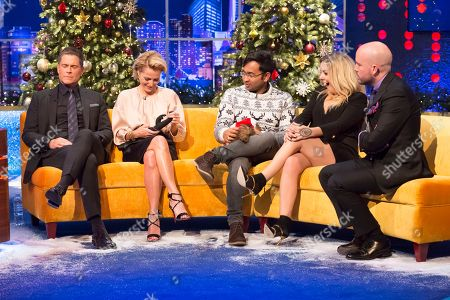 Rob Lowe, Gillian Anderson, Sheridan Smith, Rahul Mandal, Tom Allen