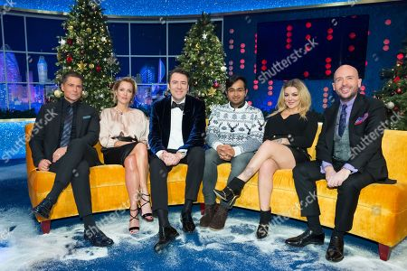 Jonathan Ross, Rob Lowe, Gillian Anderson, Sheridan Smith, Rahul Mandal, Tom Allen