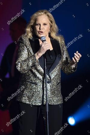 Editorial image of Sylvie Vartan in concert, Cannes, France - 29 Nov 2018