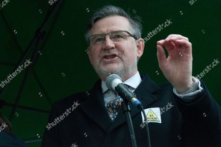 Labour Member of Parliament Barry Gardiner speech at the Together for Climate Justice Protest.