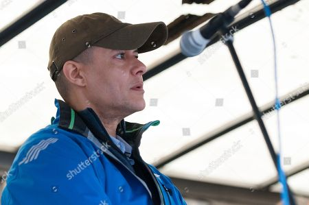 Labour Party Member of Parliament Clive Lewis speech at the Together for Climate Justice Protest.