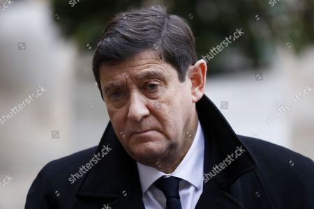 French socialist party president at the Senate Patrick Kanner speaks to the media after a meetig with French Prime Minister Edouard Philippe (not pictured) at Matignon in Paris, France, 03 December 2018. This meeting takes place two days after violent clashes during the 'Yellow Vests' demonstration. The so-called 'gilets jaunes' (yellow vests) are a protest movement, which reportedly has no political affiliation, protesting initially across the nation over high fuel prices.