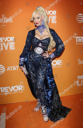 Editorial picture of TrevorLIVE, Arrivals, Los Angeles, USA - 02 Dec 2018