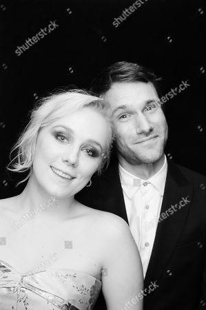 Alexa Davies and Hugh Skinner
