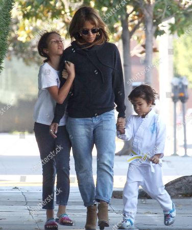 Nahla Aubry, Halle Berry and Maceo Martinez