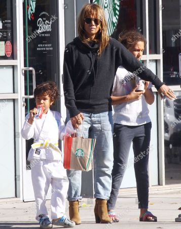 Maceo Martinez, Halle Berry and Nahla Aubry